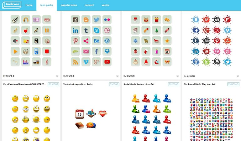 FindIcons - Free Icons Download