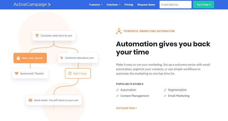ActiveCampaign - Mailchimp Alternative Email Marketing Tool