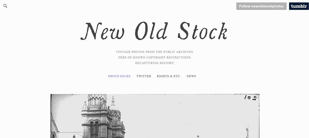 New Old Stock - Webtopic