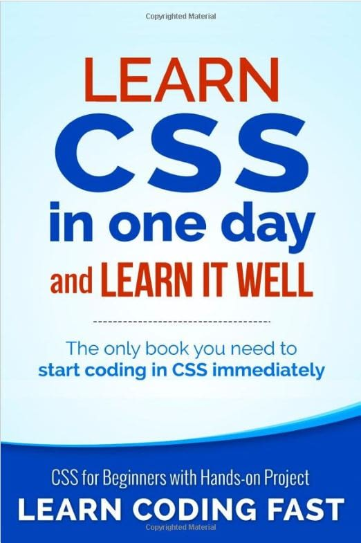 Learn CSS in One Day Book