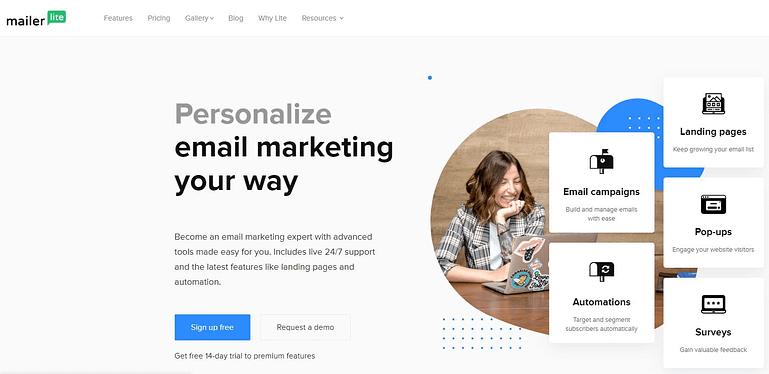 MailerLite - Mailchimp Alternative Email Marketing Tool