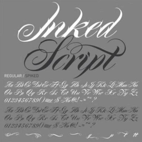 2. Inked Script min