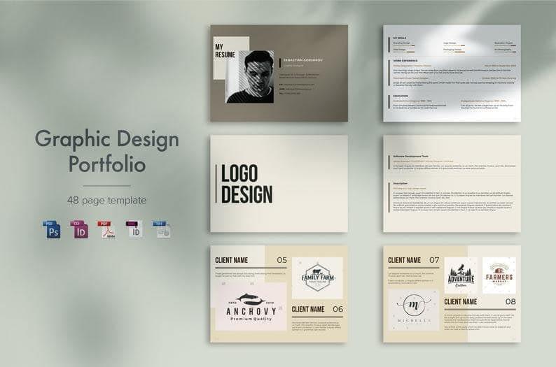 1. Graphic Design Portfolio by Grafurt min
