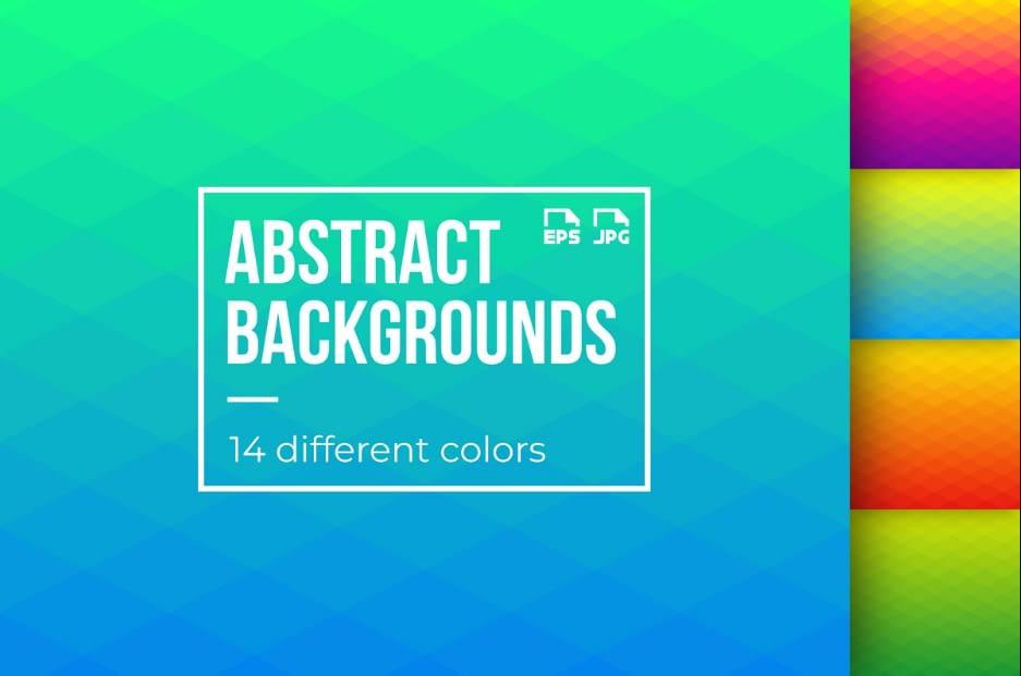 Abstract Gradient Backgrounds Gradients in Graphics Design