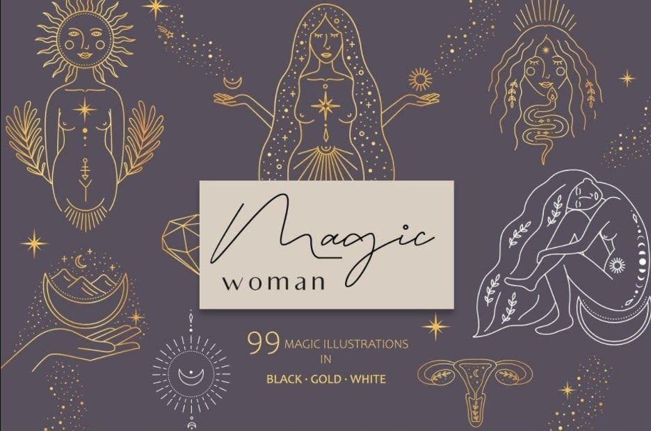 Magic woman feminine pack min