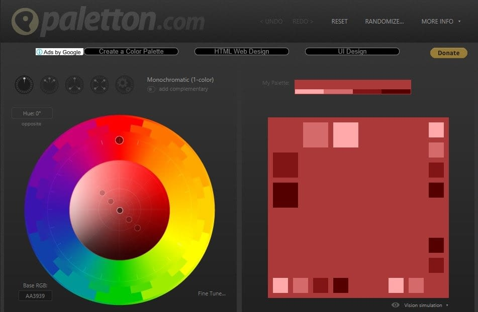 Palettr Color Palette Generators