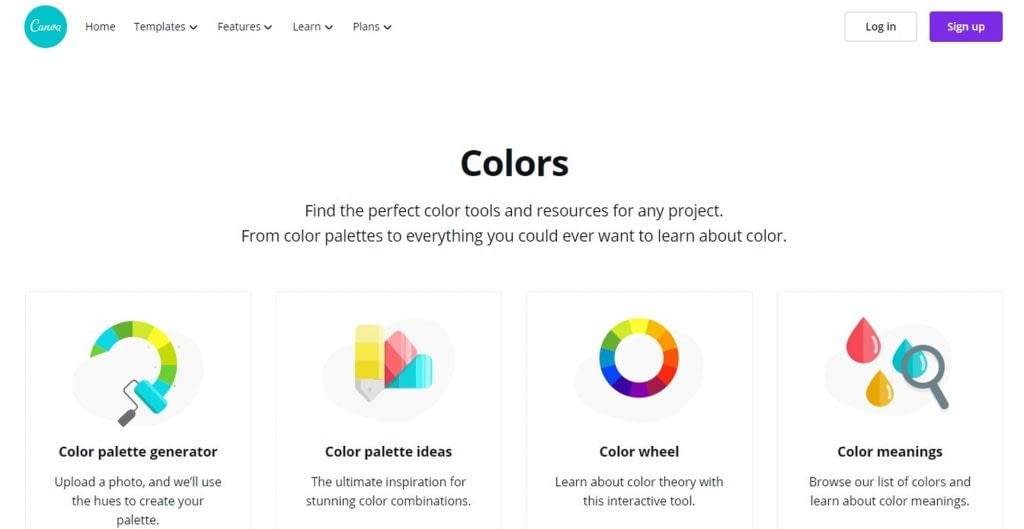 Color Tool – Canva min