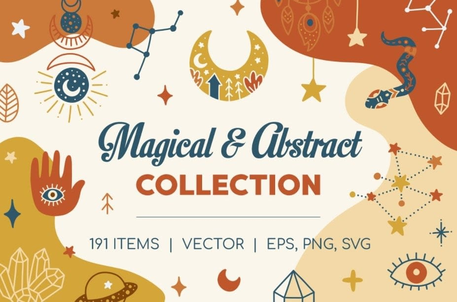 Magical Abstract Collection min