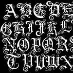 35 Best Number Fonts For Tattoo Designs