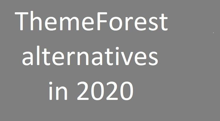 ThemeForest alternatives in 2020- webtopic