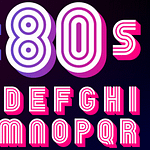 50 Best 1980s Fonts Which Are Most Popular