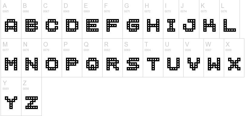 BM-Block-font