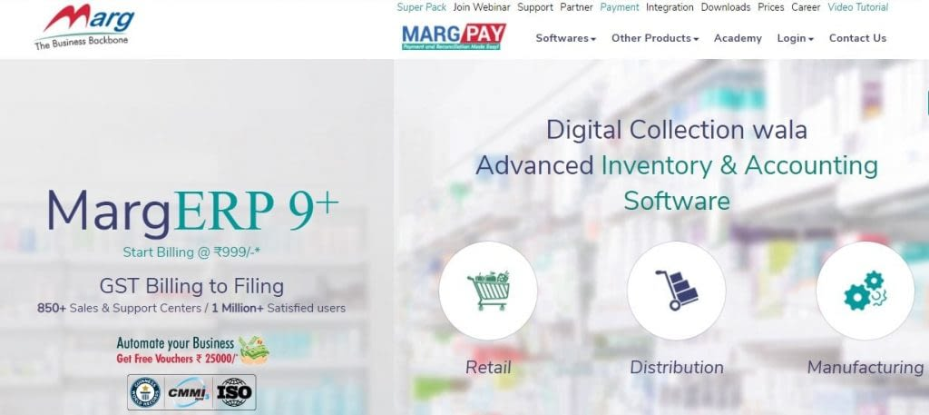 34. MARG ERP 9 Accounting Software – min