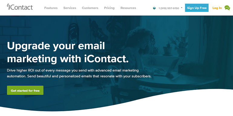 Email Marketing Service #4. iContact