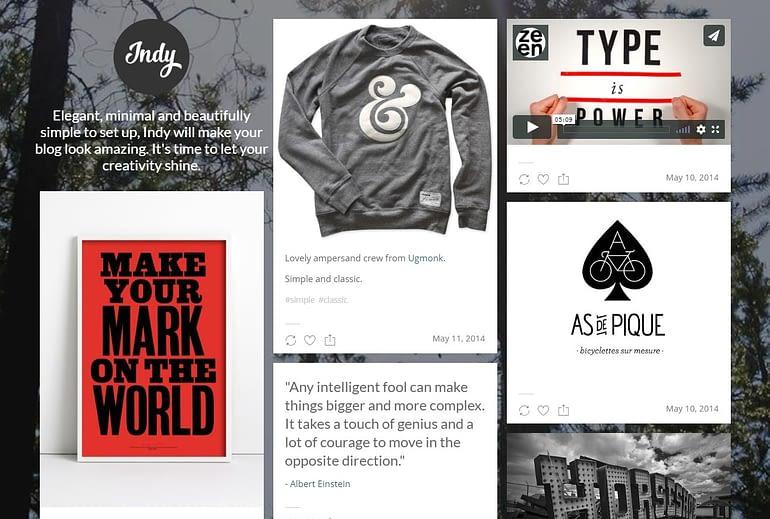 Tumblr Free Blog Theme