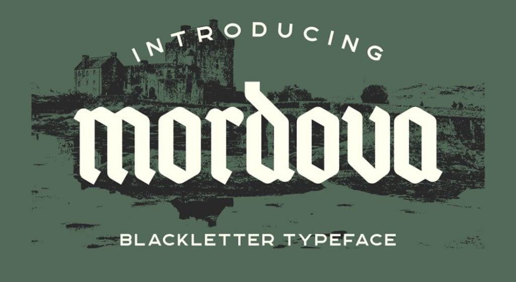 7.Mordova Tatto Font – min