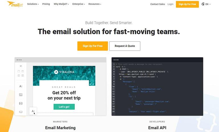 Mailjet - Mailchimp Alternative Email Marketing Tool