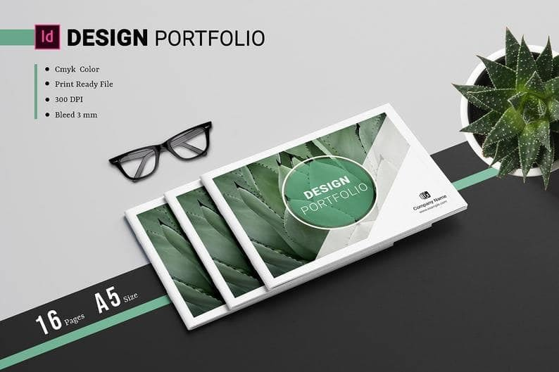 10. Portfolio Template Designer Portfolio Multipurpose Portfolio Brochure InDesign template min
