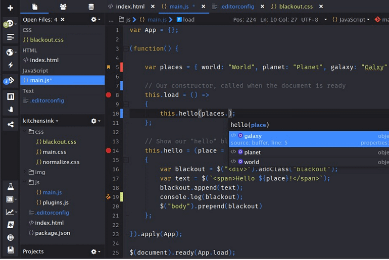 Top 17 Best JavaScript IDE and Code Editors min