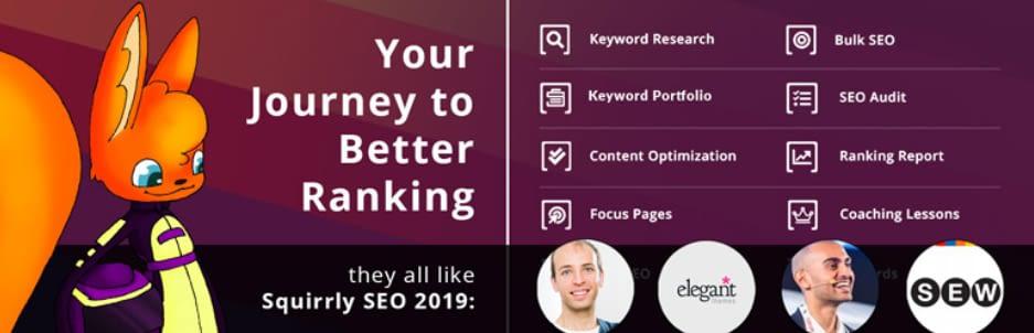 Squirrly SEO 2019 Strategy–WordPress plugin