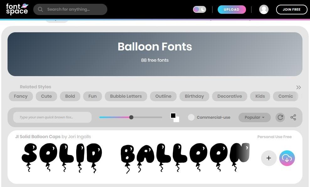 27. Yeah Foil Balloon Color Font min