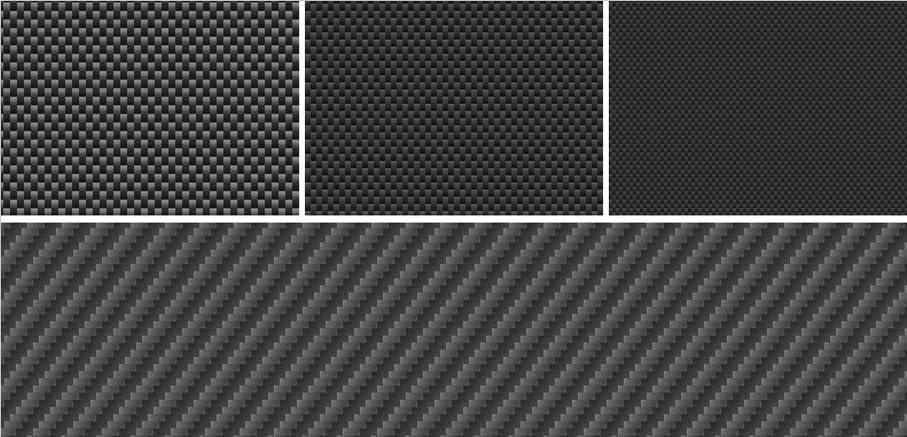 Free carbon fiber Photoshop patterns (Carbon Fiber Textures)