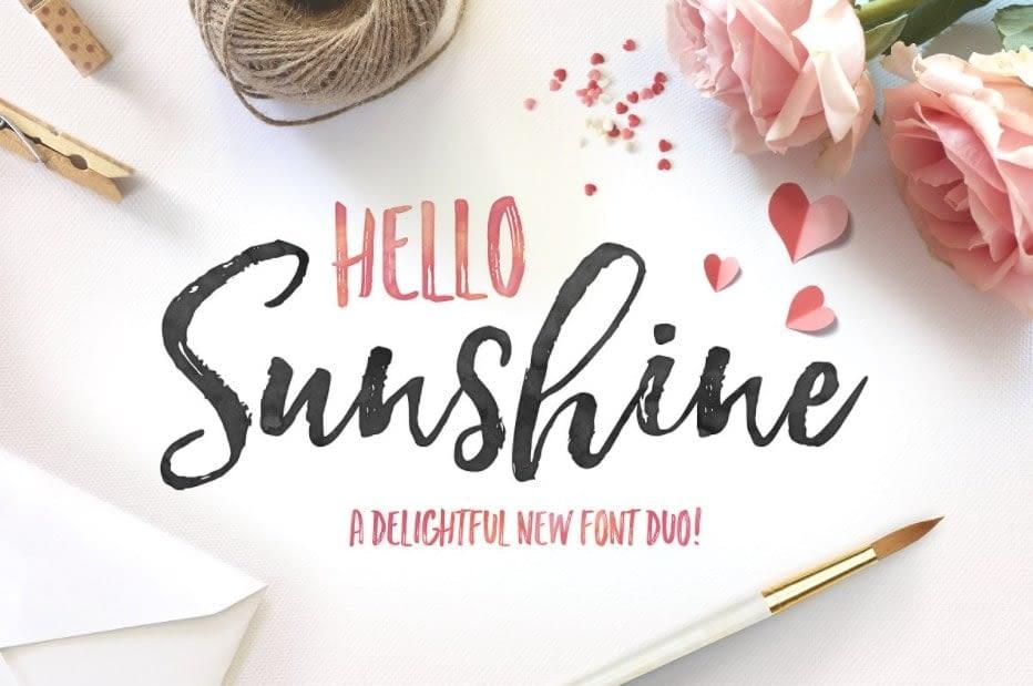 41. Hello Sunshine min