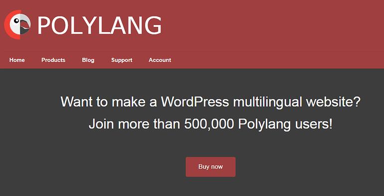 Polylang WordPress translation plugins