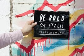 WEBTOPIC - Colorful Typography