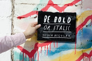 WEBTOPIC - Colorful Typography