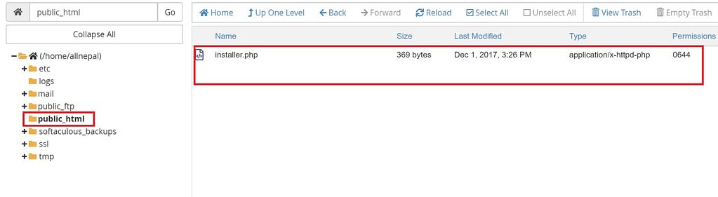 Upload installer & archive files