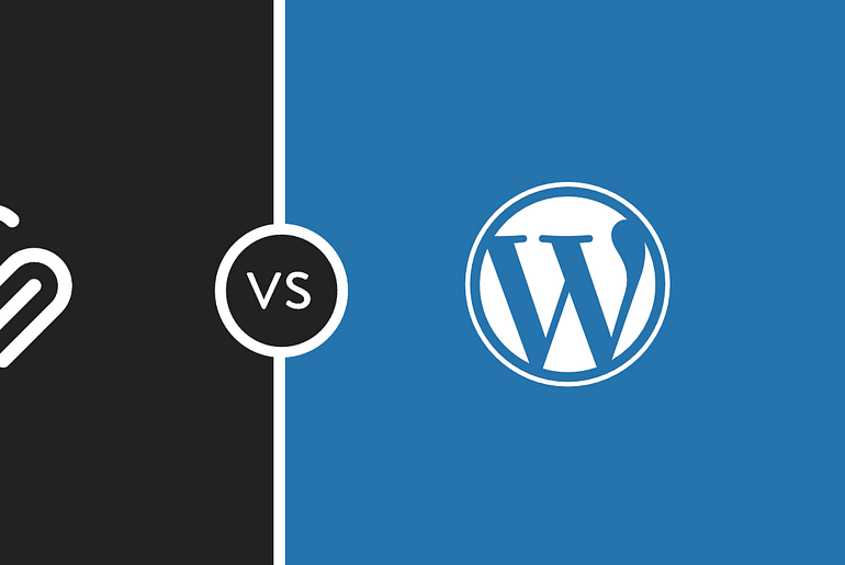 WordPress and SquareSpace