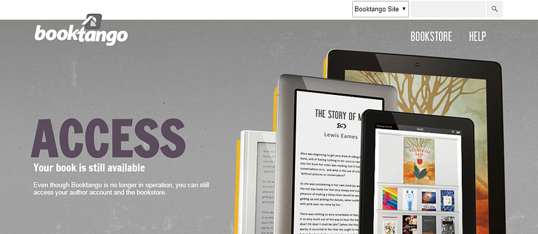 BookTango Self Publishing Websites