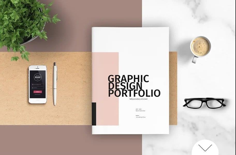 5. Graphic Design Portfolio Template min