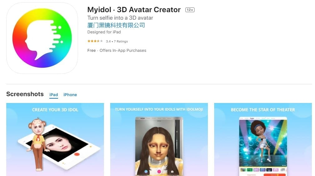 Character Creator app