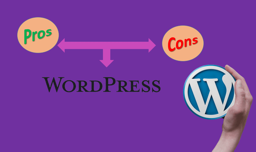 The Pros and Cons of a Content Manager – CMS as WordPress