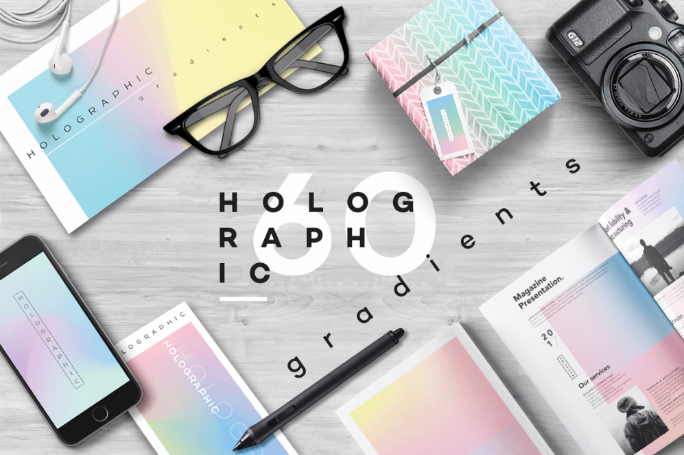 Holographic Gradients