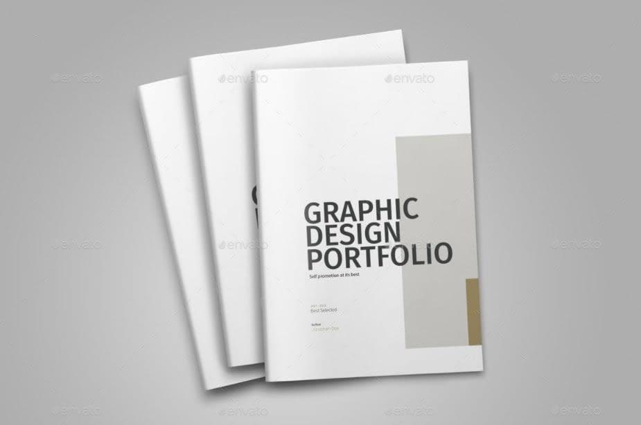 7. Graphic Design Portfolio Template by GraphicRiver min