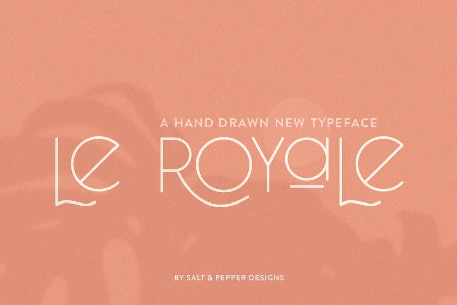 34. Le Royale Tattoo Font – min