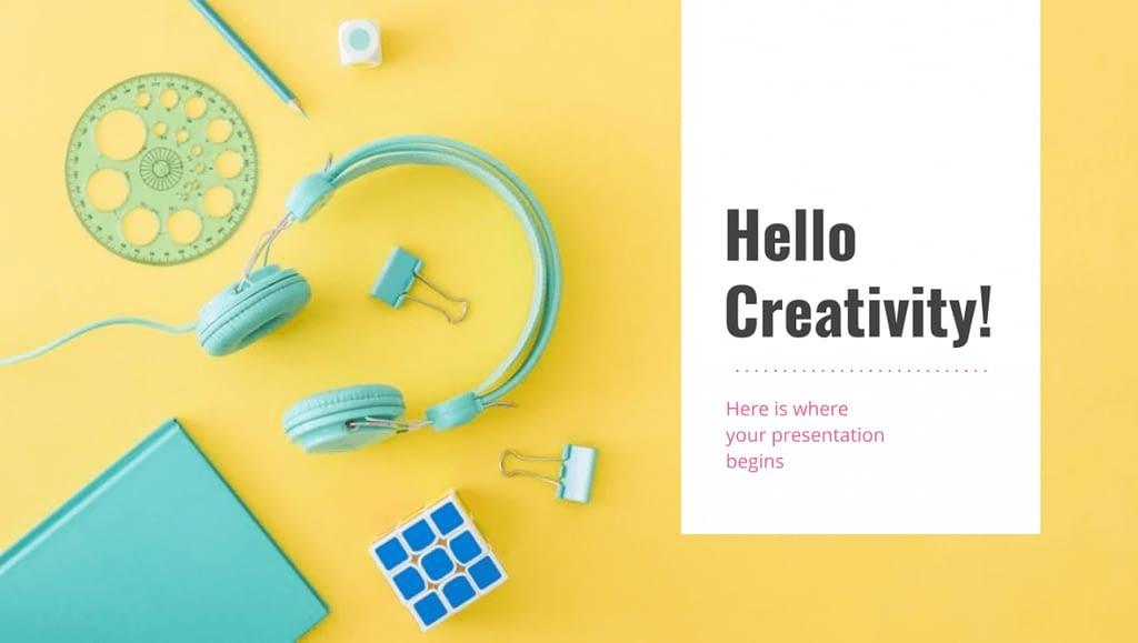 Creative Color Presentation