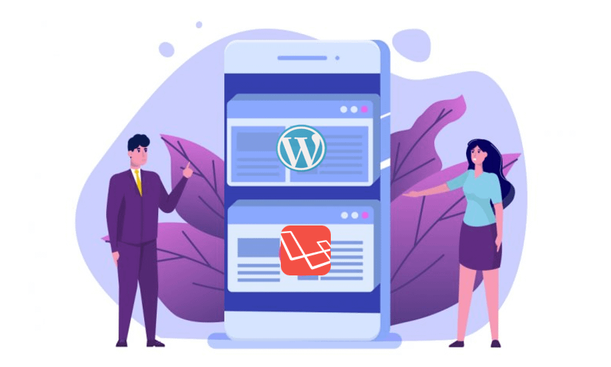 Which is Better, a Predesigned Template (WordPress) or a Custom One (Laravel)
