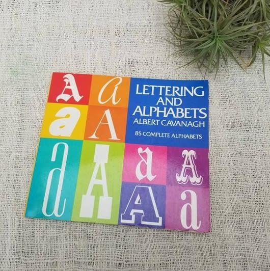 Lettering Alphabets book