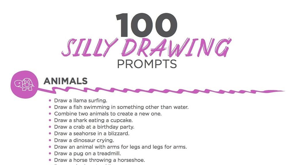 17. Drawing prompts min