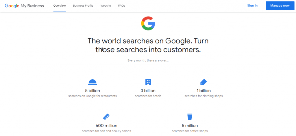 Google's 'My Business'