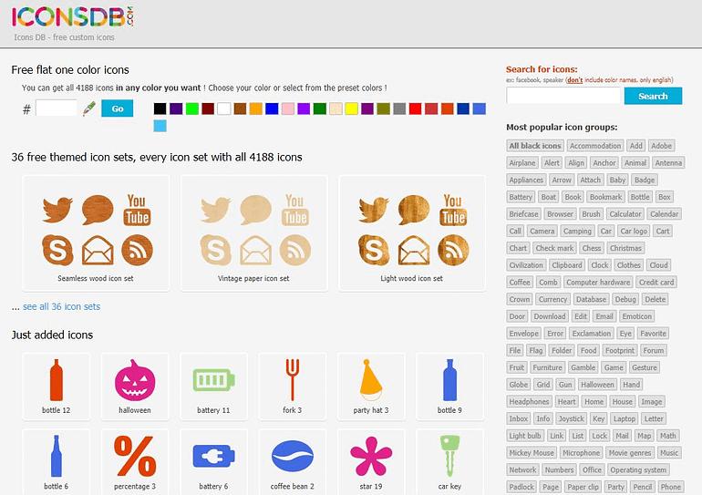 Free Icons Download at iconsdb