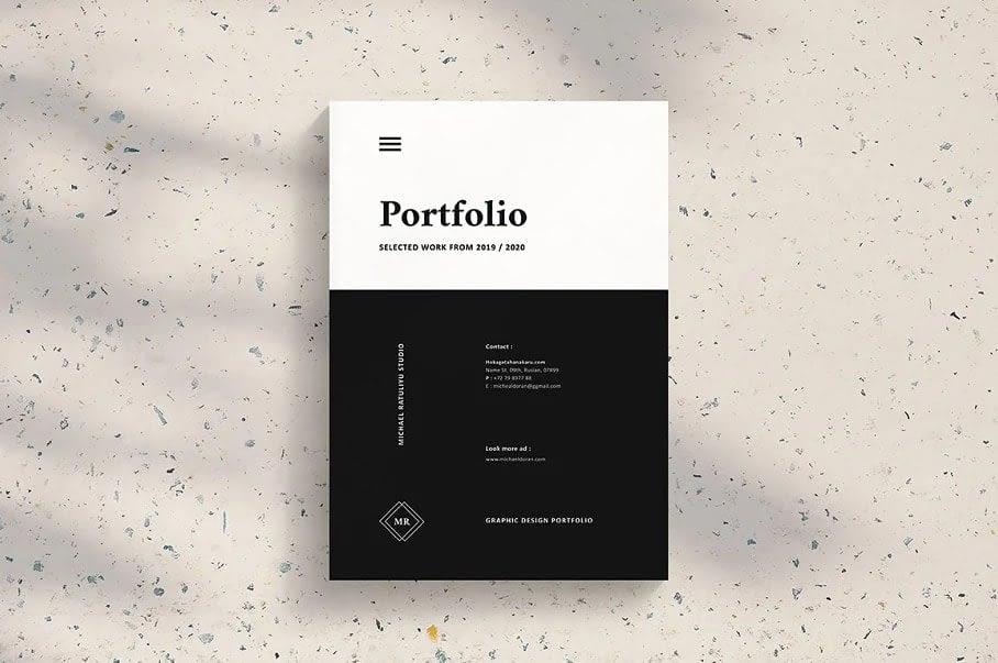 29. Graphic Design Portfolio Template by Occy Design min