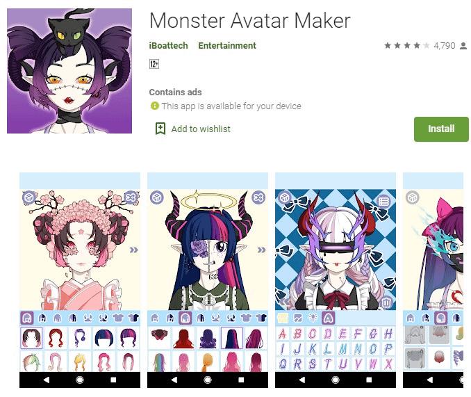 13. Monster Avatar Maker