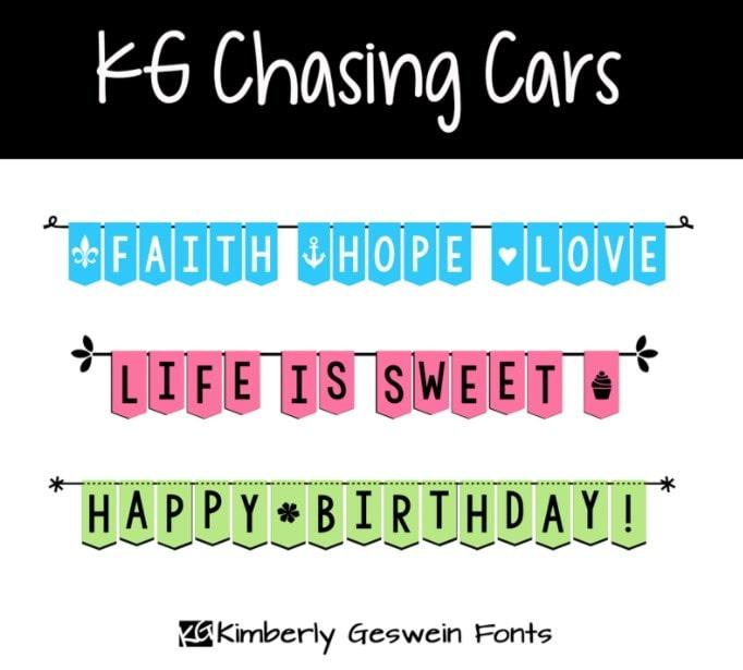 32. KG Chasing Cars min