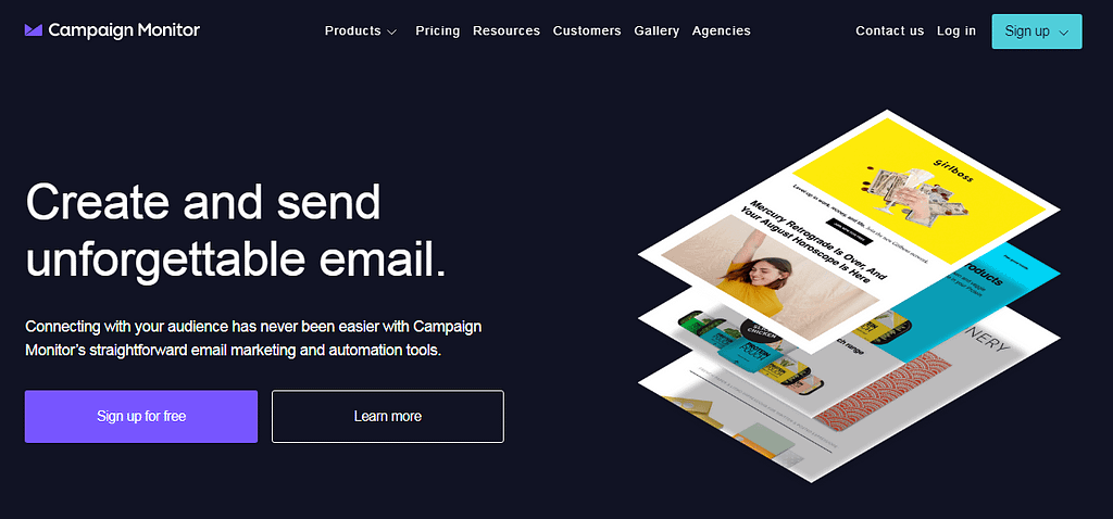Email Marketing Services #3. Campaign Monitor