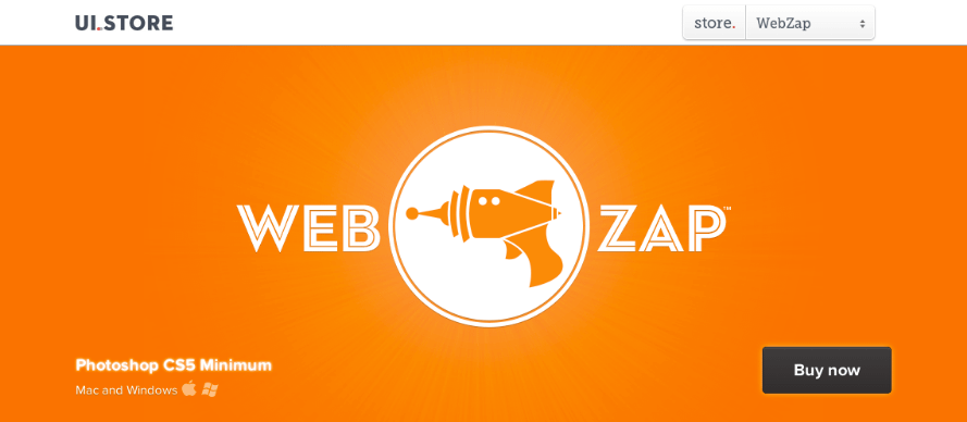 Web Zap Photoshop Add-Ons
